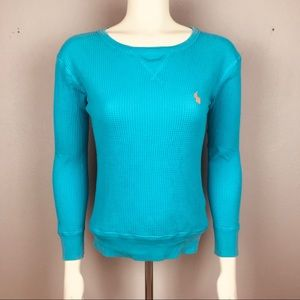 Polo Ralph Lauren Teal Thermal S